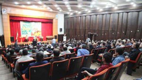 گزارش تصویری از مراسم گرامیداشت روز جهانی کار و کارگر در سینما زیتون رودبار