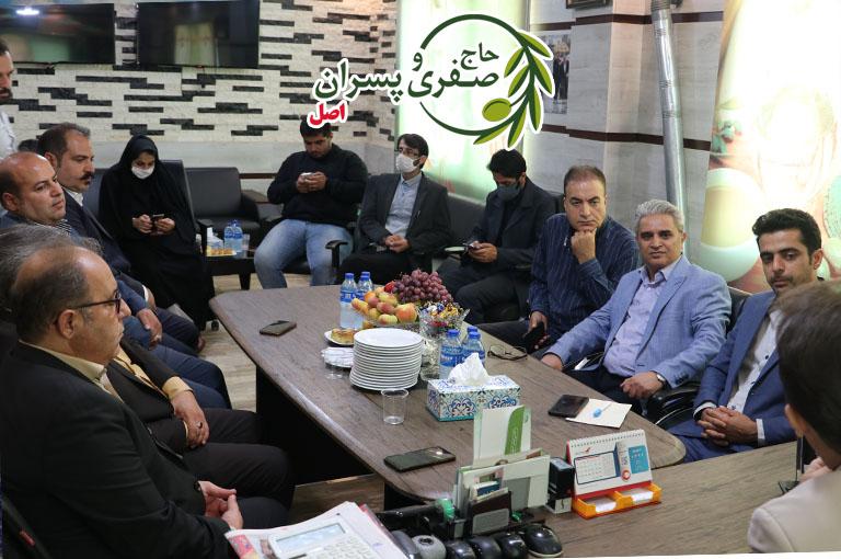 آئین تجلیل از زحمات ارزشمند خبرنگاران شهرستان رودبار